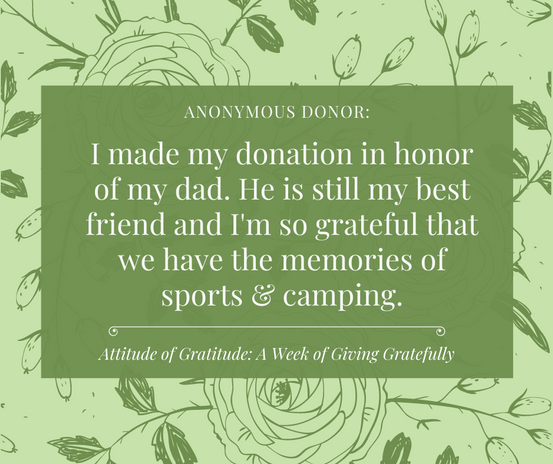 From Anonymous Donor