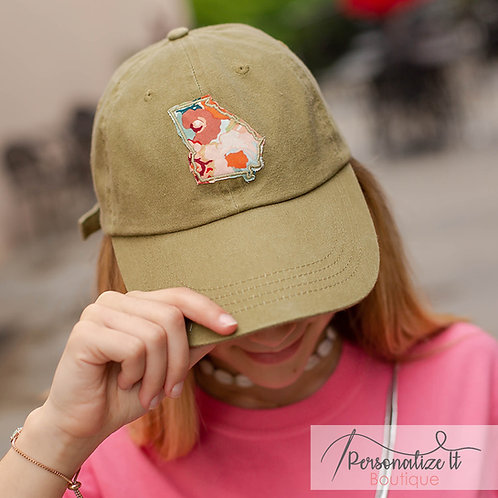Georgia Appliqué Hat