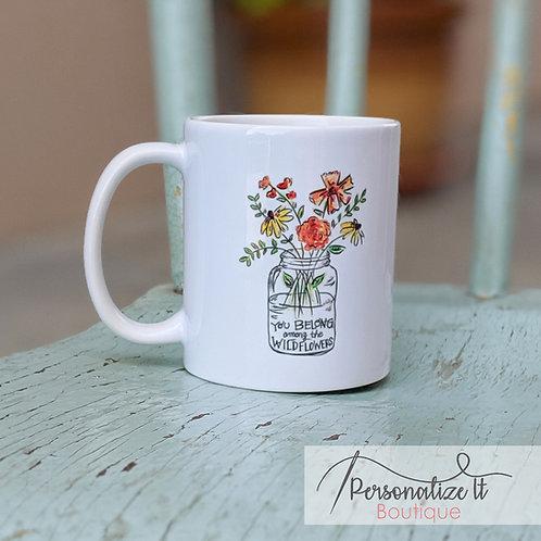 Wildflowers Coffee Cup