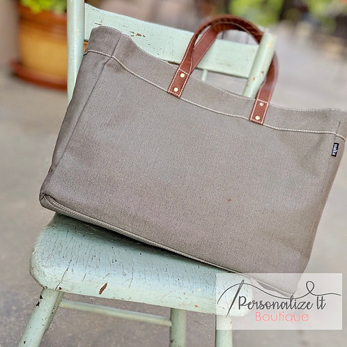 MONOGRAM CARRY ALL TOTE