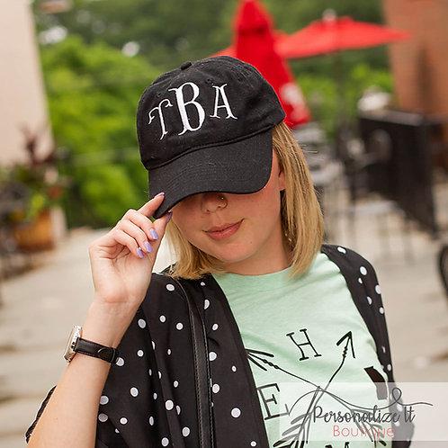 Fishtail Monogram Hat