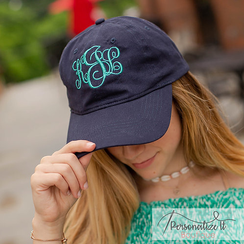 Vine Monogram Hat