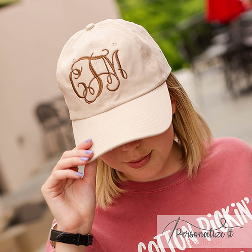 Interlocking Monogram Hat