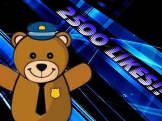 Barran's Bears Hits 2500 Likes!