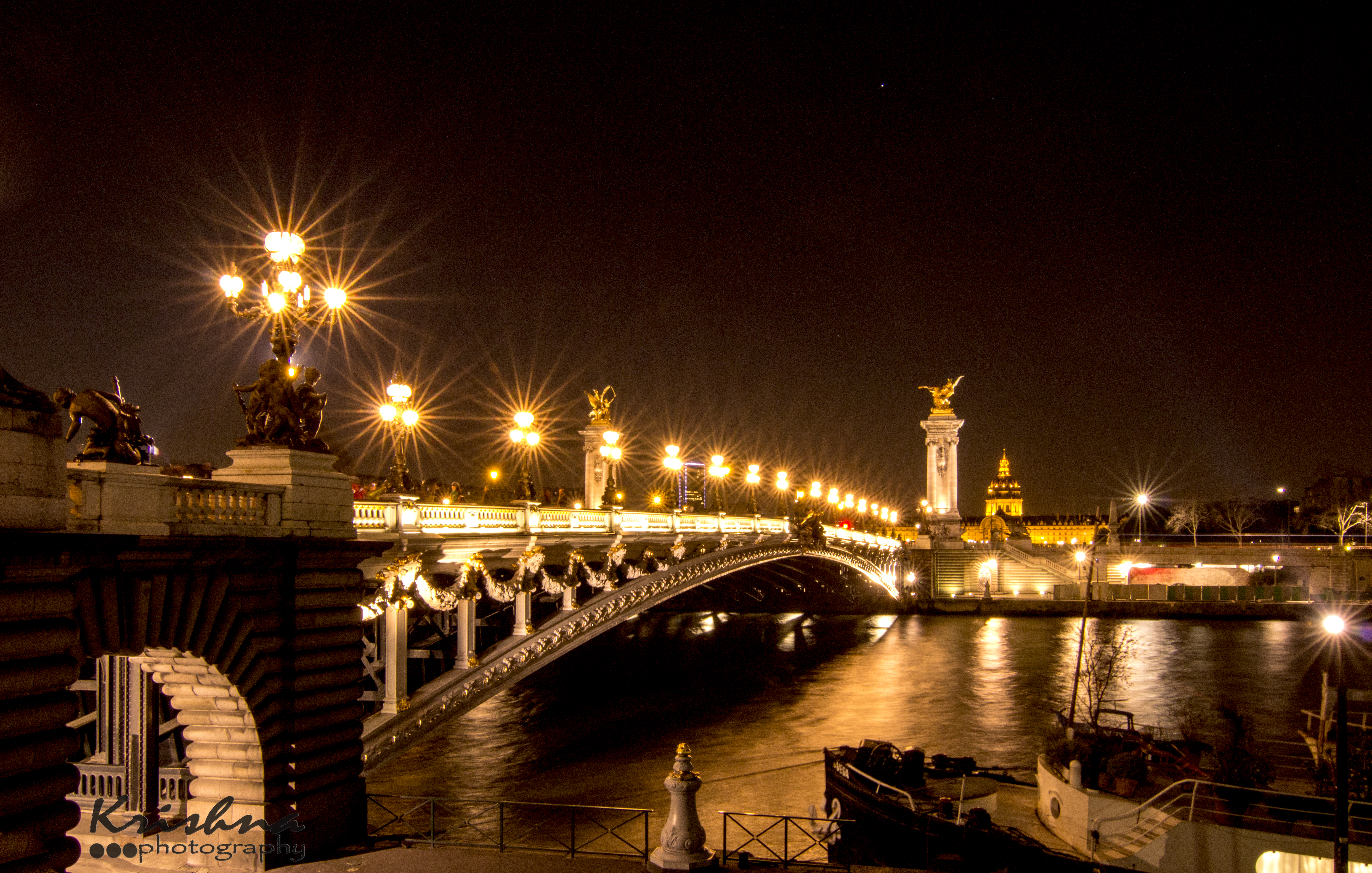 Beautiful Bridge Paris