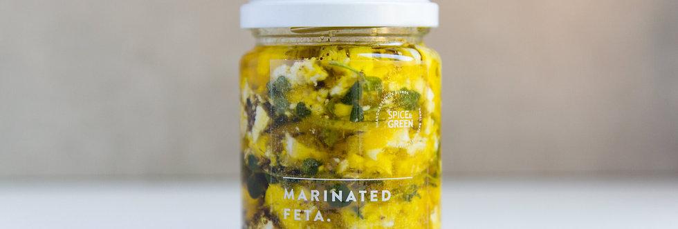 Spice & Green Marinated Feta Lemon & Za'atar