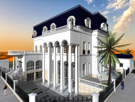 Villa project in Al-Ain city under construction by Buzztop
