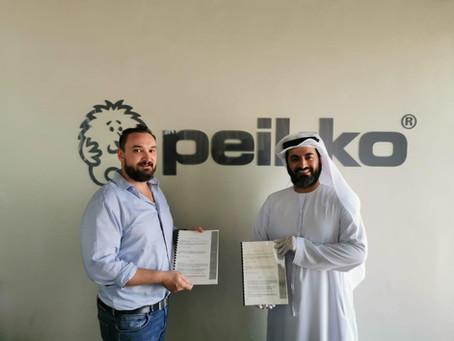 MOU Agreement with Buzztop & Peikko
