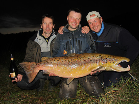 Рыболовный тур за крупнейшим лососем Европы!