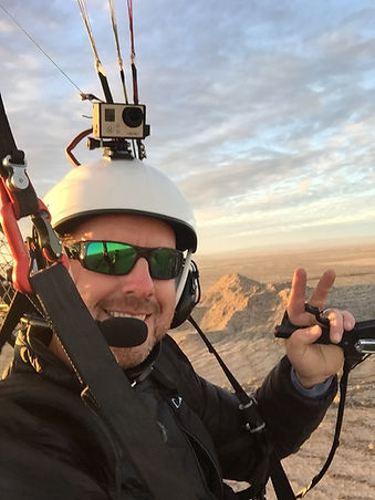 Paramotor Sports Canada's Cheif Flight Instructor is Jason Gutridge