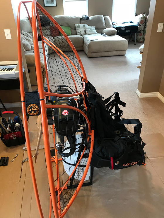 We are a proud supporter of Canadian made products- Kangook Paramotors.