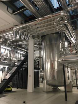 Caslano - Nuova centrale teleriscaldamen