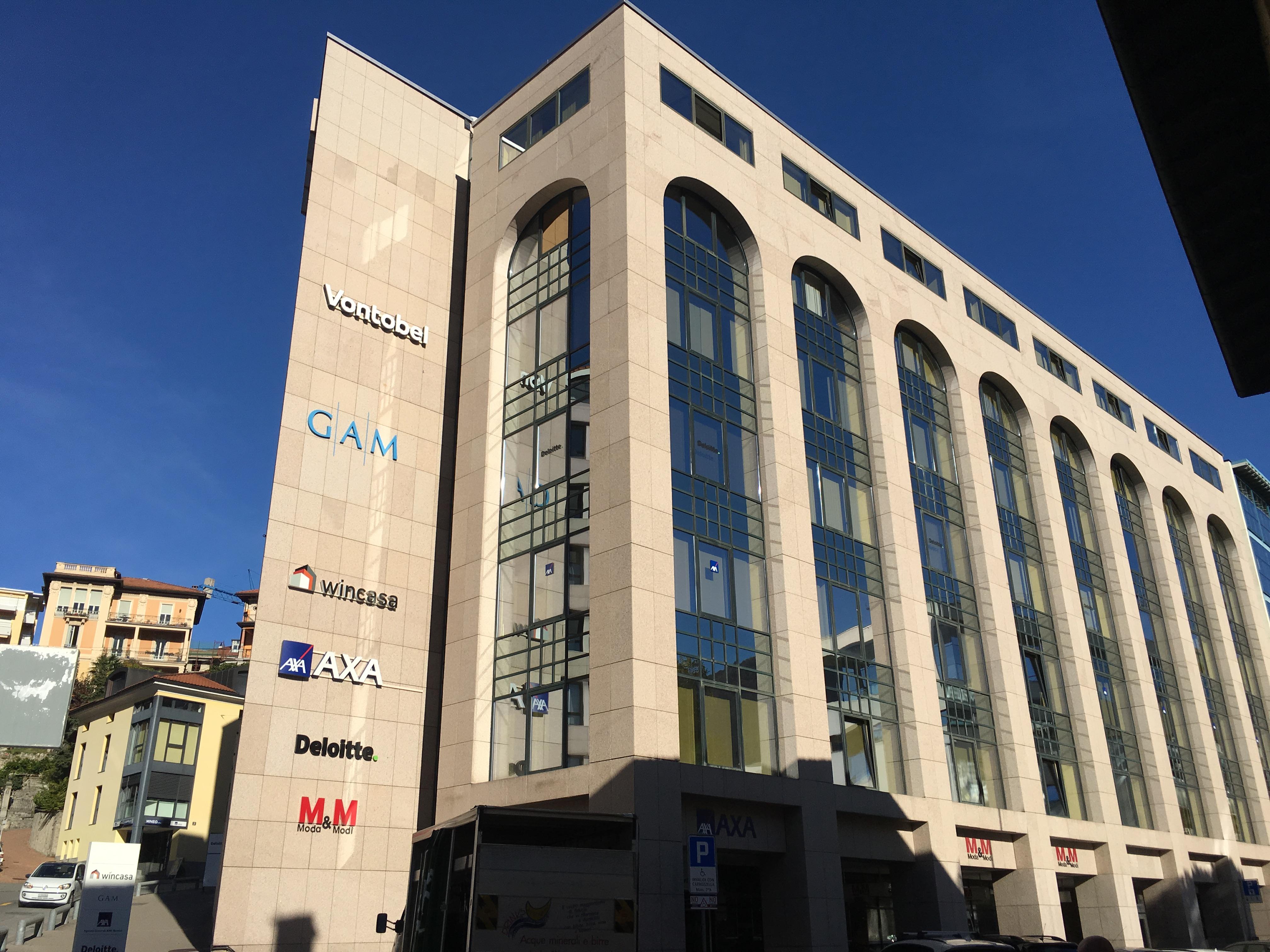 Lugano - Stabile AXA - Via Pelli & Via C