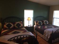 Green House queen bedroom
