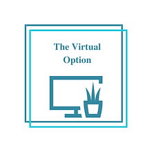 The Virtual Option Logo
