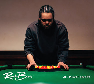 Ronnie Bosh - All People Expect - Front