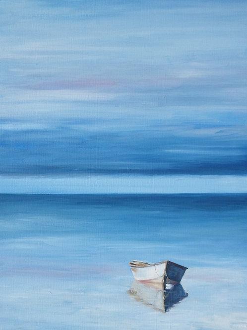 Serenity, original oil painting.