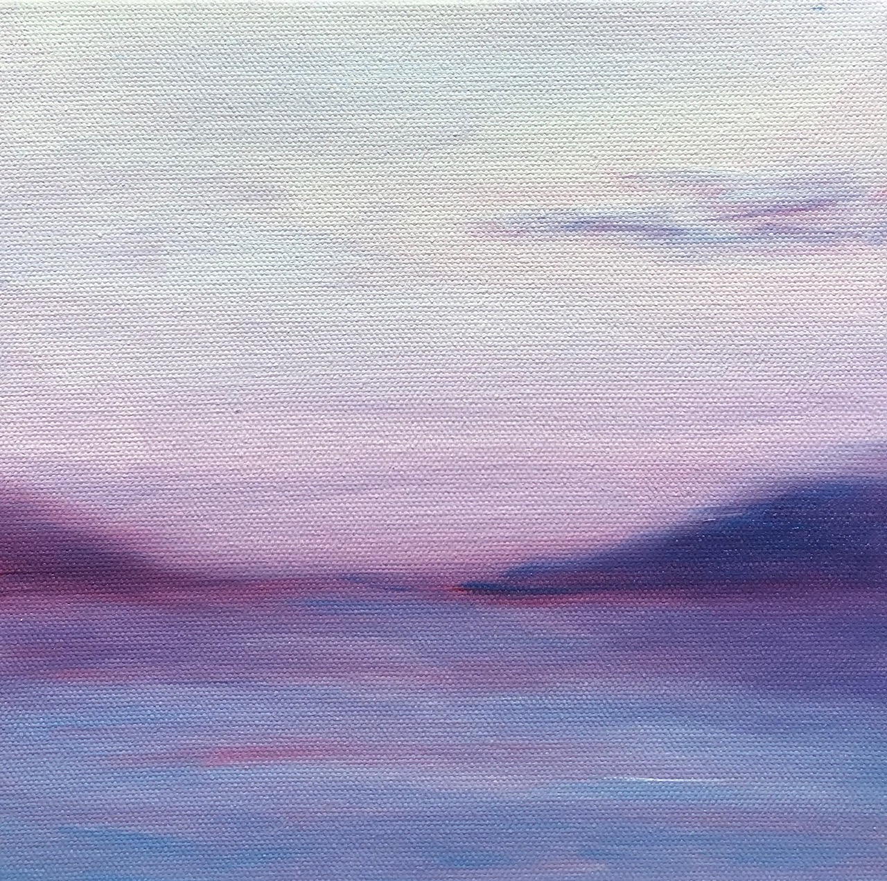 Purple sunset by Elena Whitman