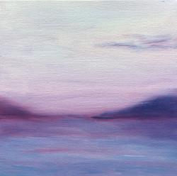 Purple sunset by Elena Whitman