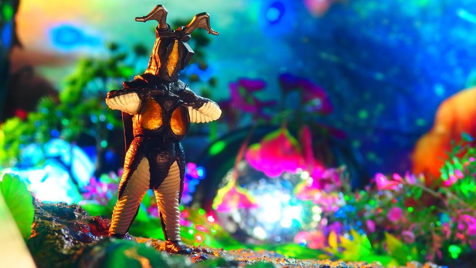 宇宙恐竜ゼットン(HG ウルトラマン44 新たなる覚醒編) 〔バンダイ BANDAI〕