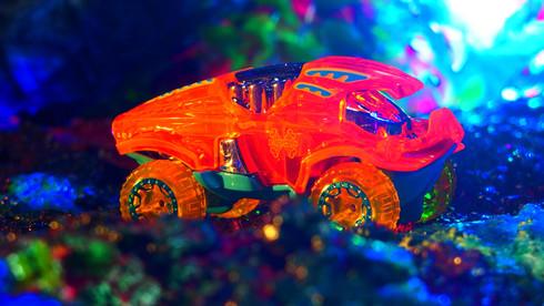 BEAT ALL オレンジ 86250X-RAYCERS 310 〔ホットウィール Hot Wheels〕