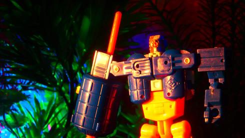 ミール宇宙攻撃部隊スペースマイクロン.アストロブラスター.太空兵-大合體