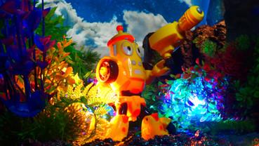 라바 Larva 爆笑虫子 ラバー 机甲战队チーチャンジェンドゥィ:メカ分隊 옐로우 黄小憨ウォンションハン:イエロー
