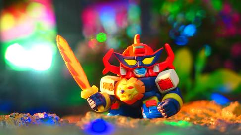 未来ロボ ダルタニアス (フルカラーコレクション スーパーロボット大戦PART2 ガシャポン) 〔BANDAI〕