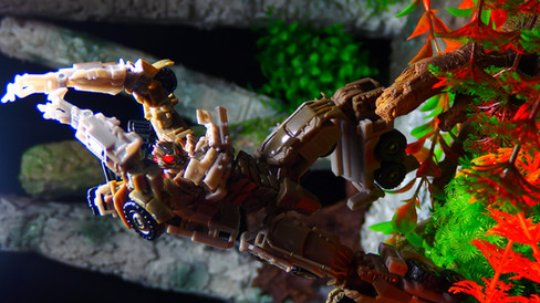 メガトロン ダークサイドムーン DD01&Megatron 超絶狂気之沙汰拡大改良型コピー品