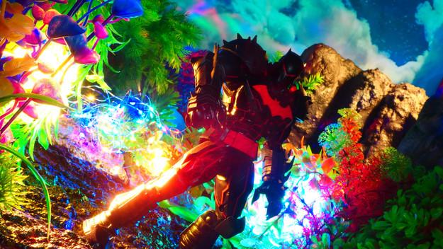 バットマン:ヘルバットスーツ DCマルチバース DC Multiverse Batman Hellbat Suit 〔McFarlane Toys マクファーレントイズ〕