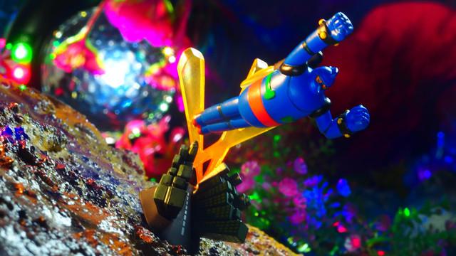 摩天楼を飛ぶ フルカラー (タイムスリップグリコ なつかしの20世紀 鉄人28号シリーズ)〔グリコ〕
