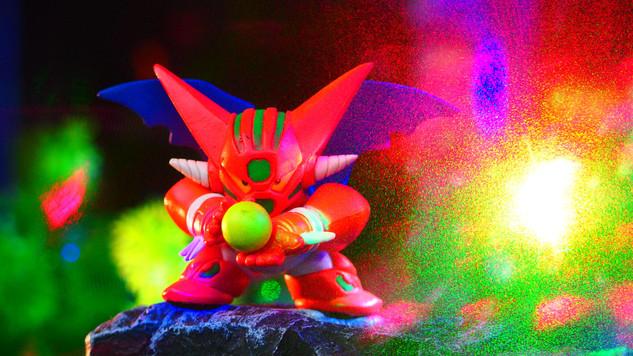 真ゲッターロボ(フルカラーコレクション スーパーロボット大戦PART2 ガシャポン)〔BANDAI〕