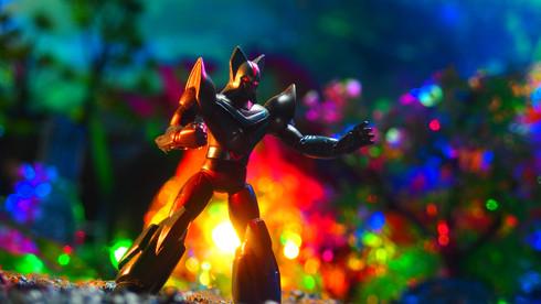 ブラックオックス HG スーパーロボット大全集6 (太陽の使者鉄人28号)〔バンダイ BANDAI〕
