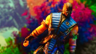 サブゼロ Mortal Kombat Mezco X Sub-Zero 4-Inch Action Figure