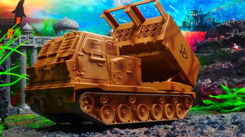 エリートフォースアメリカ陸軍アセンブリフリー マルチ発射ロケットシステムミサイルランチャー Elite Force US Army Assembly- Free Multi Launch Rocket System Toy Missile Launcher