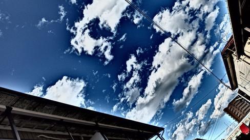 夏の日の雲