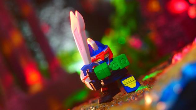 ゴッドマーズ(フルカラーコレクション スーパーロボット大戦PART2 ガシャポン)〔BANDAI〕