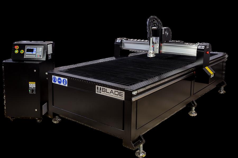 plasma CNC para corte de metal industrial
