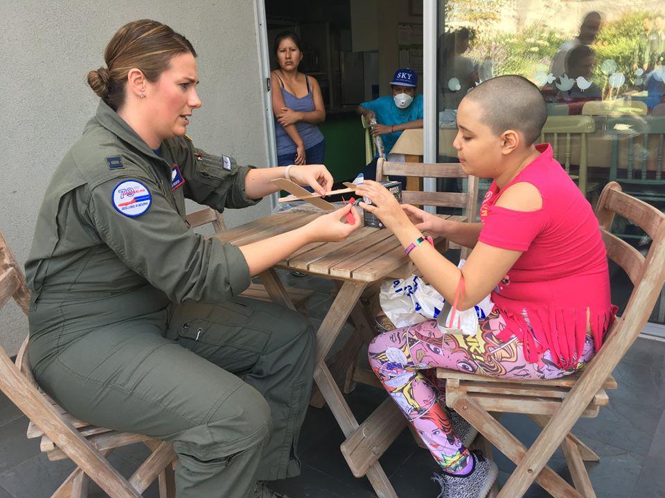 Visita Fuerza Aérea Americana USAF