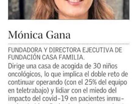 Nuestra directora ejecutiva, es elegida como una de las 100 mujeres líderes