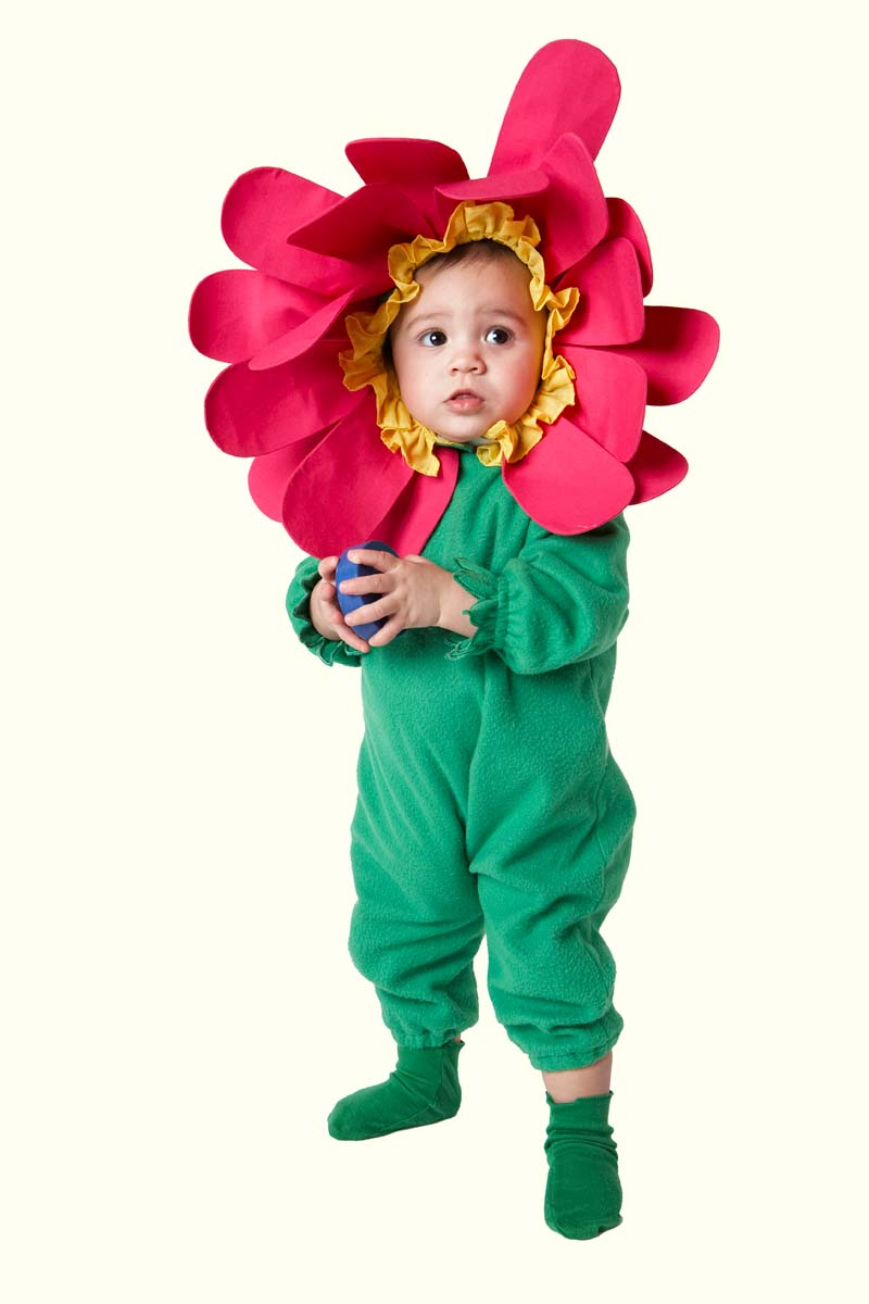 Costume de fleur pour tout-petits