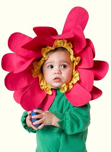 Kind Fasching Verkleidung Blumee