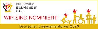 Nominiert für Deutscher Engagementpreis