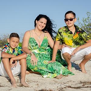 Irina y Familia