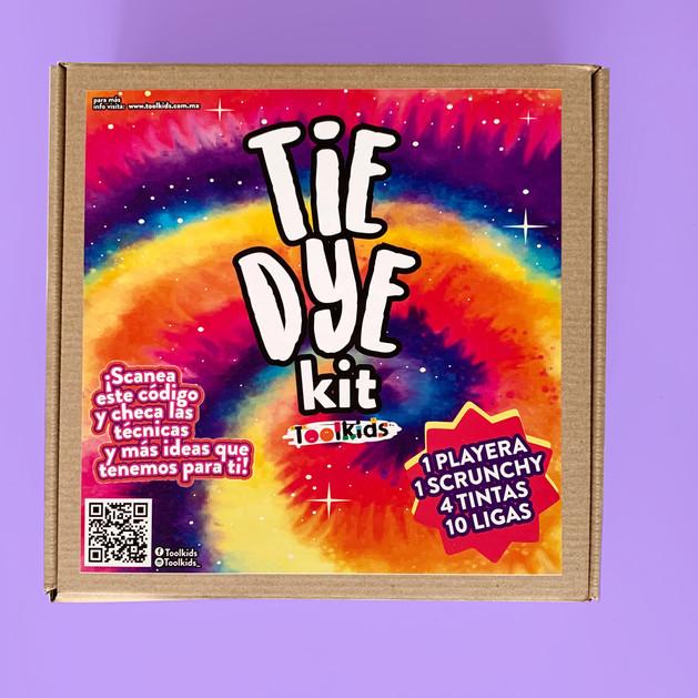 Kit Tie Dye - T-shirt y scrunchy
