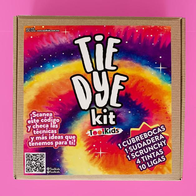 Tie Dye Kit - Sudadera, cubrebocas y scrunchy