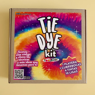 Tie Dye Kit - T-shirt y cubrebocas