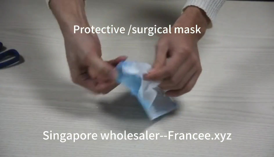video demo for protective mask -surgical mask Singapore supplier /wholesaler (China)