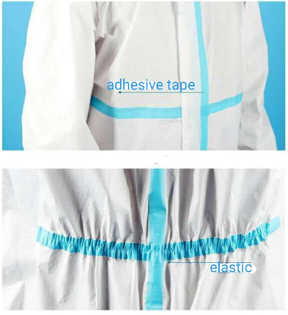 Medical safety gown with CE supplier www
