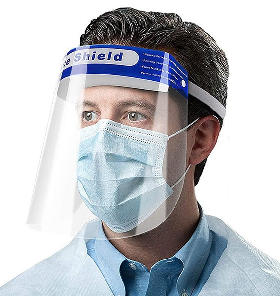 Singapore supplier N wholesaler for Face shield with CE and FDA certificate for medical usage